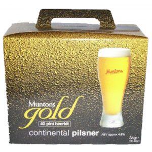 Malto per birra - Muntons Qualità Gold CONTINENTAL PILSNER