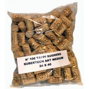 Tappo Sughero subertech art medium 24x40