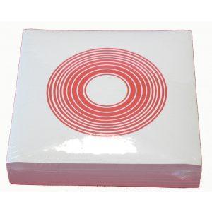 Copridamigiane piatto in carta
