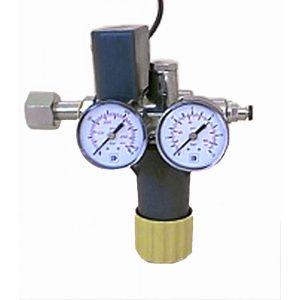 Riduttore + preriscaldatore per saturatore gas co2