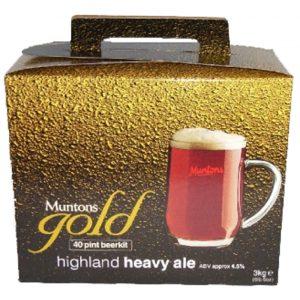 Malto per birra - Muntons Qualità Gold HIGHLAND HEAVY ALE
