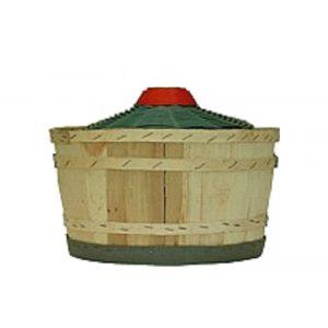 Cesto legno 28 lt cipolla