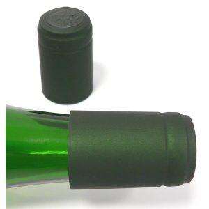 Capsule termoretraibili cha verde muschio