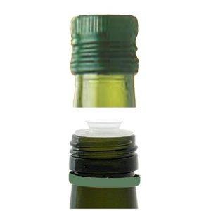 Capsula in alluminio pre-filettata per olio