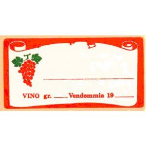 Etichetta Lion Vino  Rosso