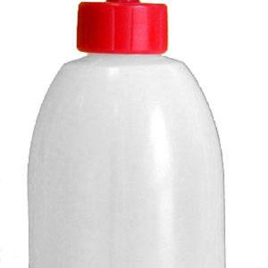 Dosatore in vetro da 2 m per liquidi su bottiglia in PN da 250