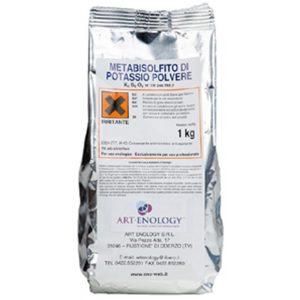 Metabisolfito di Potassio Kg 1