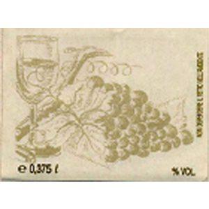 Etichetta Vino Grappolo Bianco