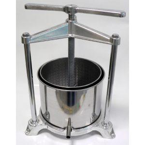 Torchio in alluminio-inox