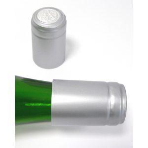 Capsule termoretraibile cha argento metallizzato