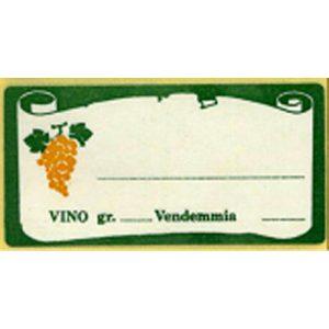 Etichetta  Lion Vino Bianco