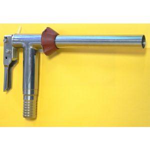 Rubinetto a pistola inox