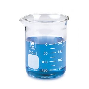 Beker in vetro 600 ml