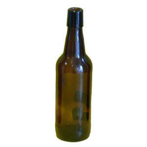 Bottiglia birra da lt. 0,50 tappo meccanico