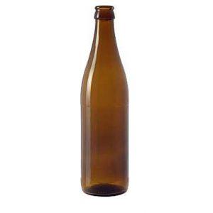 Bottiglia birra New da lt. 0,50 tappo corona da mm 26