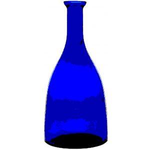 Bottiglia Viola 75 cl BLU