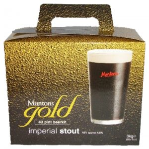 Malto per birra - Muntons Qualità Gold IMPERIAL STOUT