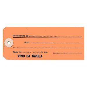 Etichetta Manila Vino da Tavola per Damigiane