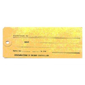 Etichetta Manila Vino DOC  per Damigiane