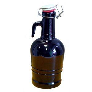 Bottiglia birra tappo meccanico lt 2