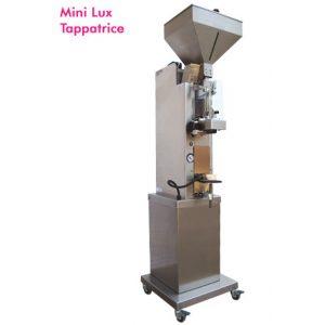 Tappatrice Mini Lux Inox