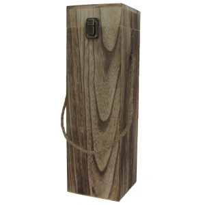 Portabottiglie in legno 1 posto