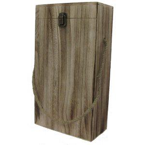 Portabottiglie in legno 2 posto