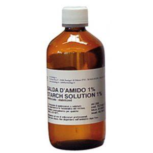 Salda d'amido 1% x 250 ml
